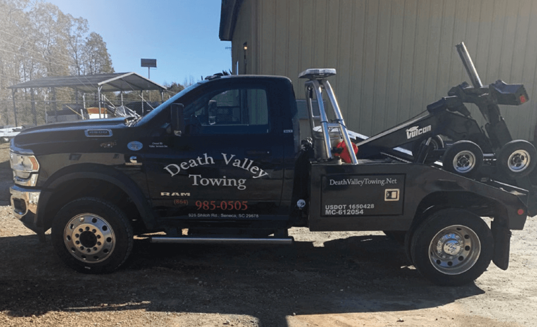 Webfleet technology helps Death Valley towing treat it's customers right
